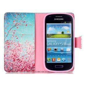 Emotive puzdro pre mobil Samsung Galaxy S3 mini - kvitnúca slivka - 3