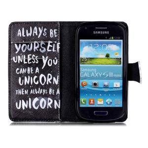 Emotive pouzdro na mobil Samsung Galaxy S3 mini - unicorn - 3