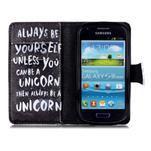 Emotive pouzdro na mobil Samsung Galaxy S3 mini - unicorn - 3/6