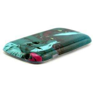 Gelový obal na mobil Samsung Galaxy S3 mini - vlci - 3
