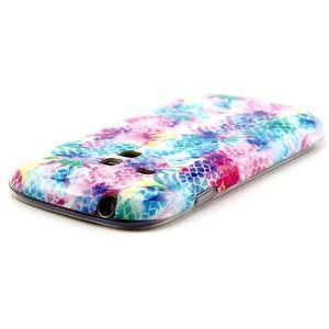 Gelový obal na mobil Samsung Galaxy S3 mini - barevné ananasy - 3