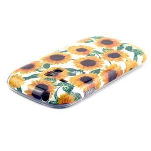 Gélový obal pre mobil Samsung Galaxy S3 mini - slunečnice - 3