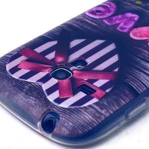 Gloss gelový kryt na Samsung Galaxy S3 mini - love - 3