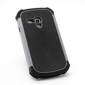 Outdoor odolný obal na mobil Samsung Galaxy S3 mini - šedý - 3
