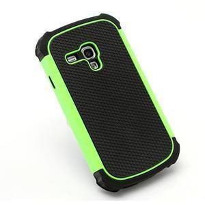 Outdoor odolný obal pre mobil Samsung Galaxy S3 mini - zelený - 3