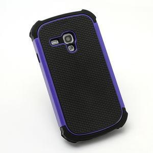Outdoor odolný obal na mobil Samsung Galaxy S3 mini - fialový - 3