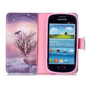 Emotive puzdro pre mobil Samsung Galaxy S3 mini - mystický jelen - 3