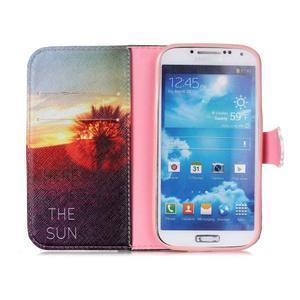 Emotive knížkové pouzdro na Samsung Galaxy S4 - východ slunce - 3