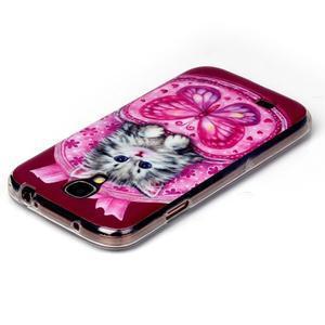 Softy gélový obal pre mobil Samsung Galaxy S4 - koťátko - 3