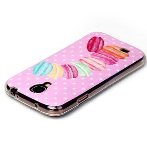 Softy gélový obal pre mobil Samsung Galaxy S4 - makrónky - 3