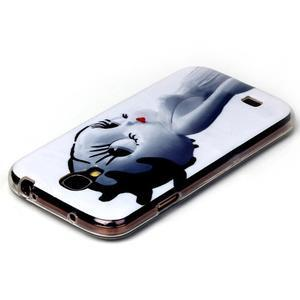 Softy gelový obal na mobil Samsung Galaxy S4 - kočička - 3