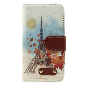 Elegant peňaženkové puzdro pre Samsung Galaxy S4 - Eiffelova veža - 3