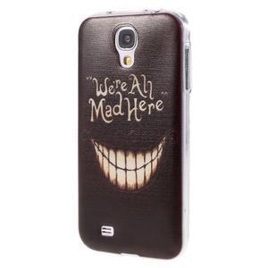 Ultratenký slim gelový obal na Samsung Galaxy S4 - všichni jsme blázni - 3