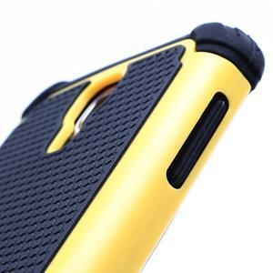 Outdoor odolný silikonový obal na Samsung Galaxy S4 - žlutý - 3