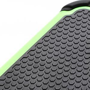 Outdoor odolný silikonový obal pre Samsung Galaxy S4 - zelený - 3