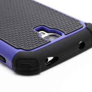 Outdoor odolný silikonový obal pre Samsung Galaxy S4 - tmavomodrý - 3