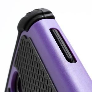 Outdoor odolný silikonový obal pre Samsung Galaxy S4 - fialový - 3