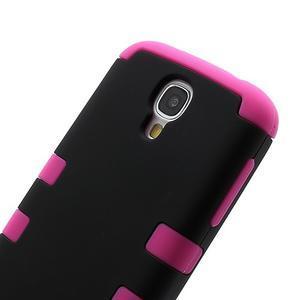 Extreme odolný gélový obal 2v1 pre Samsung Galaxy S4 - rose - 3