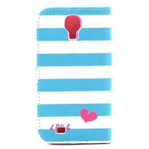 Standy peňaženkové puzdro pre Samsung Galaxy S4 - love - 3