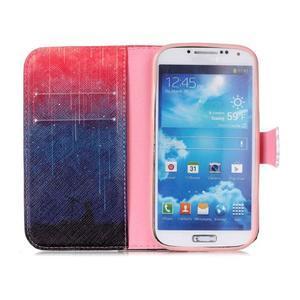Emotive peňaženkové puzdro pre Samsung Galaxy S4 mini - meteory - 3