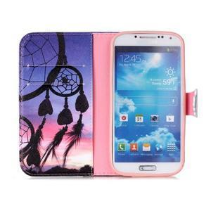 Emotive peněženkové pouzdro na Samsung Galaxy S4 mini - lapač snů - 3