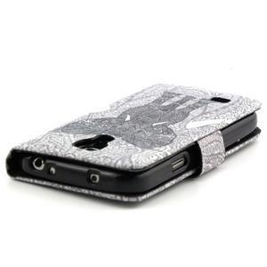 Puzdro na mobil Samsung Galaxy S4 mini - slon - 3