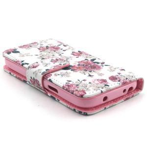 Puzdro pre mobil Samsung Galaxy S4 mini - kvety - 3