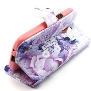 Diaryleather puzdro pre mobil Samsung Galaxy S4 mini - beatiful - 3