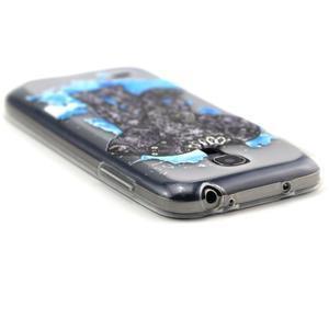 Transparentní gelový obal na Samsung Galaxy S4 mini - slon - 3