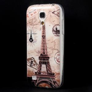 Gélový obal pre mobil Samsung Galaxy S4 mini - Eiffelova veža - 3