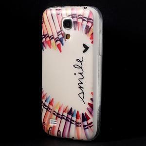 Gélový obal pre mobil Samsung Galaxy S4 mini - život je krásný - 3