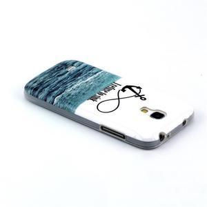 Stylish gélový obal pre mobil Samsung Galaxy S4 mini - kotva - 3