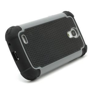 Extreme odolný kryt pre mobil Samsung Galaxy S4 mini - šedý - 3