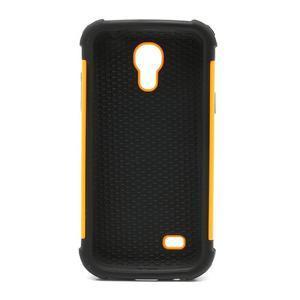 Extreme odolný kryt na mobil Samsung Galaxy S4 mini - oranžový - 3