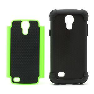 Extreme odolný kryt na mobil Samsung Galaxy S4 mini - zelený - 3