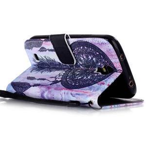 Diary peňaženkové puzdro pre mobil Samsung Galaxy S4 mini - dream - 3