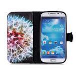 Emotive peňaženkové puzdro pre Samsung Galaxy S4 mini - barevená púpava - 3/6