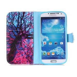 Emotive peněženkové pouzdro na Samsung Galaxy S4 mini - strom - 3