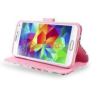 Ochranné pouzdro na mobil Samsung Galaxy S5 - sovičky - 3
