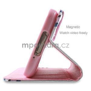 Ochranné puzdro pre mobil Samsung Galaxy S5 - kvety - 3