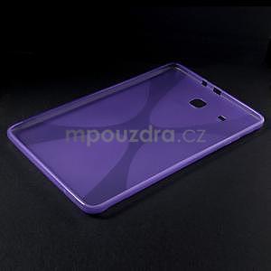X-line gélové puzdro na tablet Samsung Galaxy Tab E 9.6 - fialové - 3