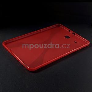 X-line gélové puzdro pre tablet Samsung Galaxy Tab E 9.6 - červené - 3