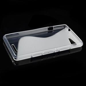 S-line gelový obal na Sony Xperia E3 - transparentní - 3