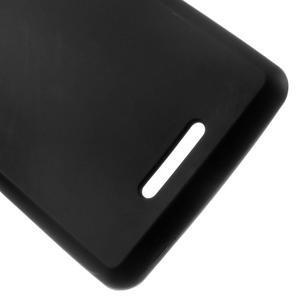 Matný gélový obal pre mobil Sony Xperia E3 - čierny - 3