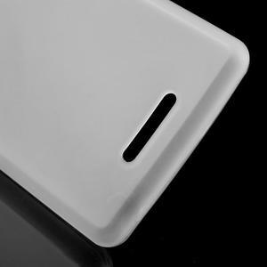 Matný gelový obal na mobil Sony Xperia E3 - transparentní - 3