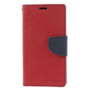 Richmercury puzdro pre mobil Sony Xperia E3 - červené - 3