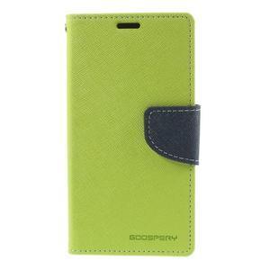 Richmercury puzdro pre mobil Sony Xperia E3 - zelené - 3