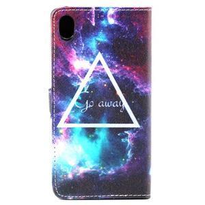 Puzdro na mobil Sony Xperia M4 Aqua - triangl - 3