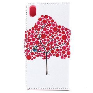 Puzdro na mobil Sony Xperia M4 Aqua - soví strom - 3