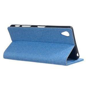 Texture puzdro pre mobil Sony Xperia X - modré - 3